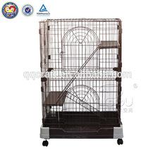 QQPET China wholesale cheap double dog cage