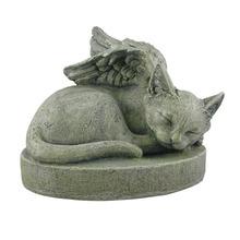 Decorative Souvenir Cat Angel Pet Memorial Stone