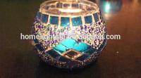 Decoration glass candlestick mosaic candlestick glass candlestick