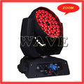 Hot WLEDM-11-4 Quiet 36 rgbw 4 in 1 10w leds zoom wash moving head cool disco effect lightings