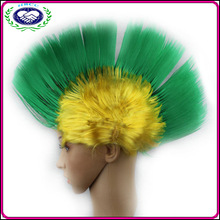 Wholesale popular funny halloween party fan wig