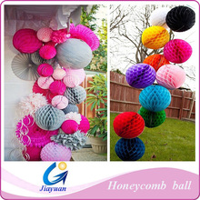 Paper craft honeycomb ball, Decorations honeycomb ball for engagement