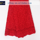 In stock Item high quality african french lace/ red retail african lace fabrics for nigeria wedding dresses