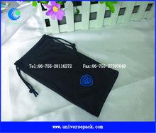 Factory produced microfiber eyewear bag