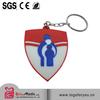 wholesales double sides 2D soft pvc Key Cover/cap factory