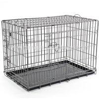 Folding welded rabbit cage