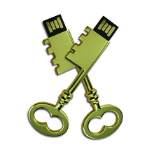 2014 Metal personalized Europeanism Memory Promotion USB Key Flash Drive 1G 2G factory wholesale