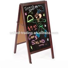 Wooden kids drawing board