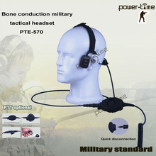 Military bone conduction water resistant security & protection products PTE-570