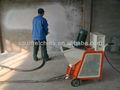 esquilo de máquinas de pulverização para a massa de pintura na parede