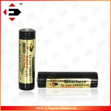 Top qaulity EFAN 18650 3000mah button top battery 3.7v