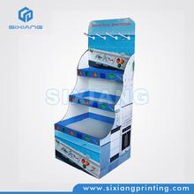 Tier Cardboard Counter Top POP Display, POP Counter Corrugated Display