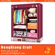 Portable Closet Storage Organizer Wardrobe Armoire Bedroom Furniture