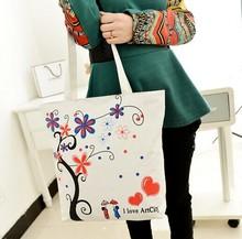 Trendy Fashion Personalized Colors Cheap Canvas Tote Shoulder Bag Wholesale