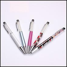 2014 promotional elegant PVC pieces metal ball pen