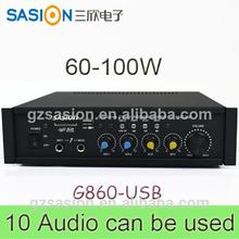 SASION pa amplifie AV 100W bluetooth amplifier car amplifier high voltage operational amplifier