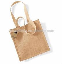 Jute Hessian Small Deluxe (M4) Plain Shopping Bag Crafting Gift Bag