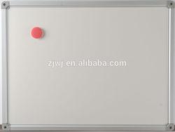 Aluminum frame magnet whiteboard