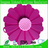 flower silicone cooking pot cover lid