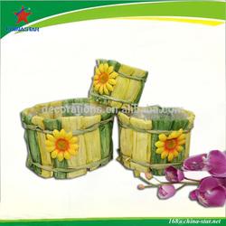 biodegradable grass planter pot