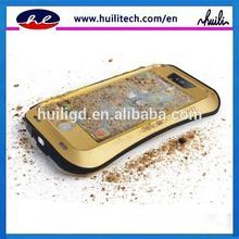 2014 new arrival shockproof dustproof Aluminum Love Mei waterproof Gorilla Glass Metal case For iphone 5