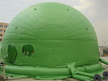 Decorative Green Dome Shaped Tent