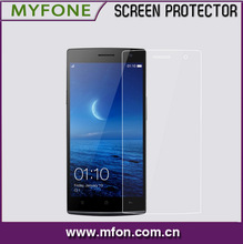 Anti-glare tempered glass screen protector shield for Oppo Find 7
