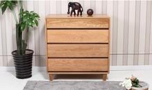 Japanese pure wood ark bucket cabinet /IKEA white oak bedroom furniture /special simplicity JP33