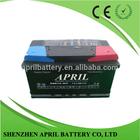 Wholesale JIS/DIN Standard 58815MF Charged Car Battery 12v 88Ah