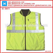 work jacket with reflective stripes,distinctive protective jacket