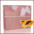 Meilleure vente de la peau produits de blanchiment naturel main likas papaye savons