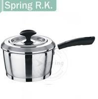 Europe-Style Stianless Steel Mirror Polishing Milk Pan/Souce pan