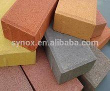 Paint colorants for concrete paving bricks