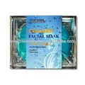 Vente chaude!! Private label beauté soins du visage avec design de mode pour blanchir la peau crystal collagène masque pack feuille