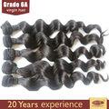 30 pulgadas brasileña extensiones de pelo largo de yaki del pelo cola de caballo