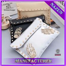 Wholesale leather designer tmall bag,fashion cheap PU clutch bag,China supplier women clutch bag