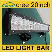 Cheap cree led light bar 20inch 126w dual row straight off road led light