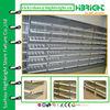 pharmacy chain store standard shelf rack with sloping shelves
