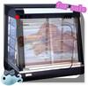 2014 Modern Electric Glass Warming Showcase/Hot Food Display Warmer/Pie warmer