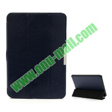 3-Folding Crazy Horse Texture Leather Case for Amazon Kindle Fire 8.9