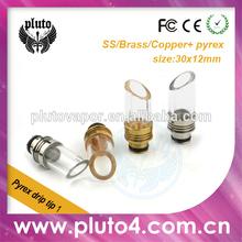 2014 Hottest drip tip long drip tip match with 510 thread atomizer Pluto drip tip