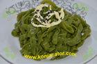 Spinach fettuccine ,zero fat,gluten-free, zero calories