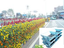 Piantatore paesaggio modulare, due- faccia fioriera, ricca di giardini mediane