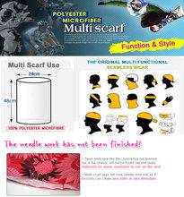 Soft stretch headband multifunctional bandana