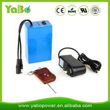 18000mah rechargeable 12 volt lithium ion battery