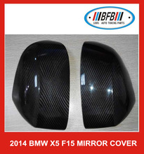 CARBON FIBER SIDE MIRROR COVERS FIT FOR 2014 NEWEST for BMW X5 F15 X6 X3 X4 M PERFORMANCE MIRROR COVER