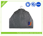 Customized logo dustproof non woven promotion cheap suit cover bags