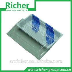 PET sushi container disposable plastic container