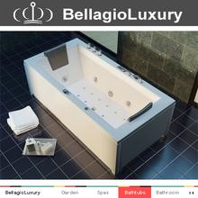 Hot sale whirlpool tub, new style freestanding bathtub acrylic massage