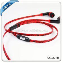 Hot Selling in ear headphone tips Best cherry wood troubadours New Style earphones mp3